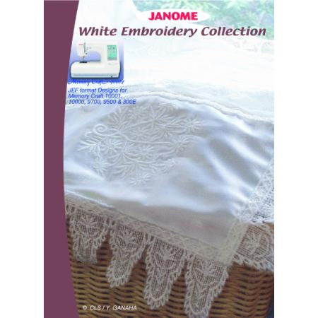 Kolekcja haftów JANOME White Embroidery Collection, fig. 1