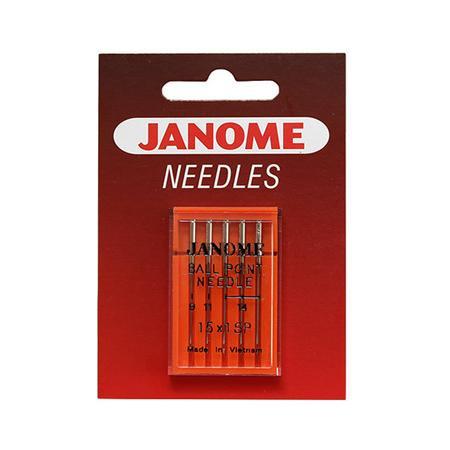 Igły Janome do maszyn, owerloków i hafciarek HAx1 SP do tkanin i dzianin (różne grubości), fig. 1