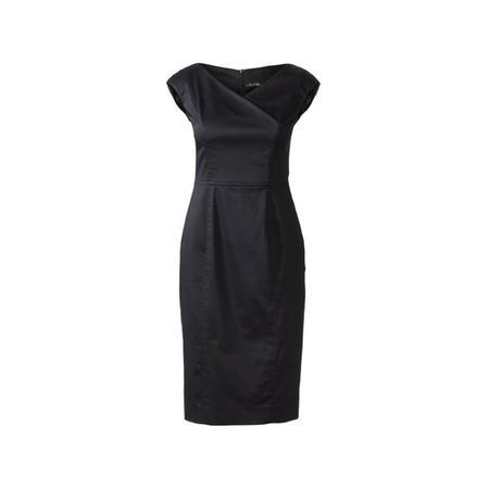 Wykrój BURDA: sukienka zefektem kopertowym, dekoltem wszpic i obniżoną linią ramion, fig. 4