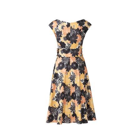 Wykrój BURDA: sukienka zefektem kopertowym, dekoltem wszpic i obniżoną linią ramion, fig. 7