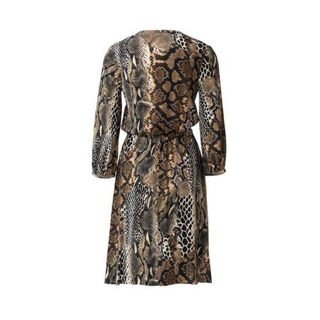 Wykrój BURDA: sukienka zzapięciem na guziki, o kroju koszulowym, zdekoltem wszpic, fig. 5