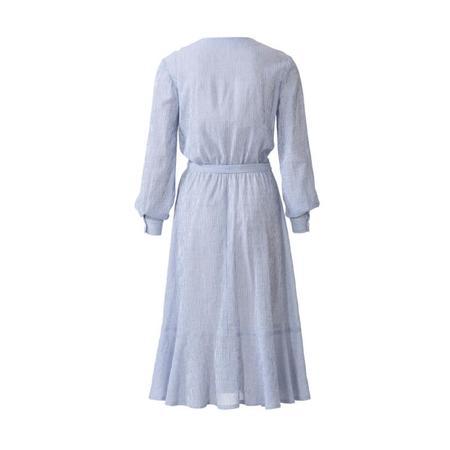 Wykrój BURDA: sukienka zzapięciem na guziki, o kroju koszulowym, zdekoltem wszpic, fig. 7