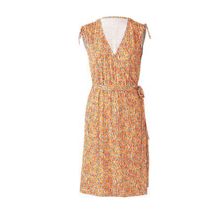 Wykrój BURDA: sukienka kopertowa z marszczeniami na ramionach, fig. 4