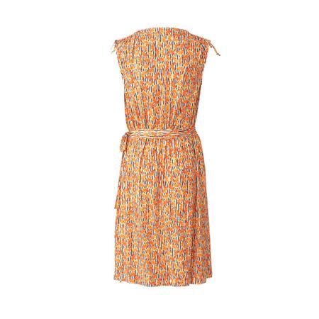 Wykrój BURDA: sukienka kopertowa z marszczeniami na ramionach, fig. 5