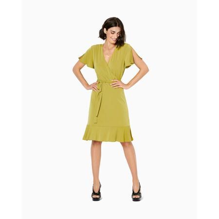 Wykrój BURDA: sukienka kopertowa z marszczeniami na ramionach, fig. 3