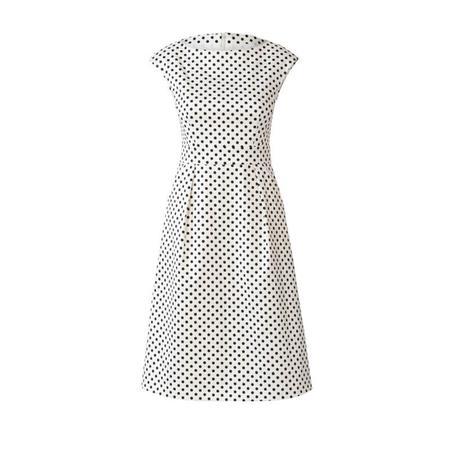 Wykrój BURDA: sukienka zpanelem wtalii i obniżoną linią ramion, fig. 4