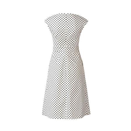 Wykrój BURDA: sukienka zpanelem wtalii i obniżoną linią ramion, fig. 5