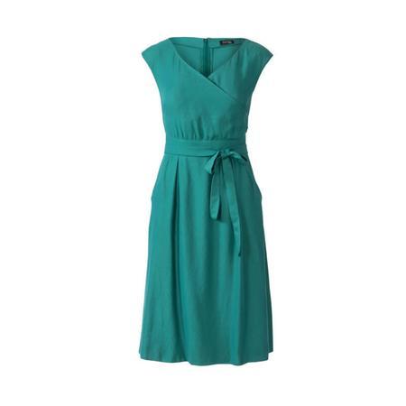 Wykrój BURDA: sukienka zpanelem wtalii i obniżoną linią ramion, fig. 6