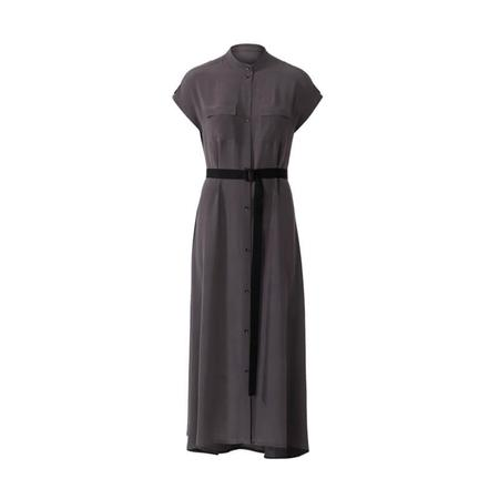 Wykrój BURDA: sukienka zzapięciem na guziki, stójką ifalbankami, fig. 4