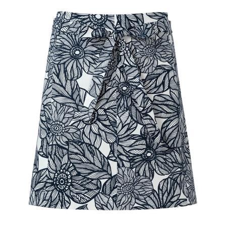 Wykrój BURDA: spódnica zklinów bez doszytego paska, zpaskiem do zapięcia wtalii, fig. 6