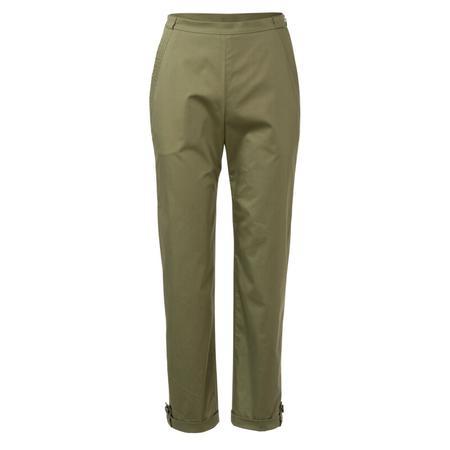 Wykrój BURDA: spodnie zzamkiem zboku, kieszeniami wkarczkach biodrowych ipodwinięciem, fig. 4