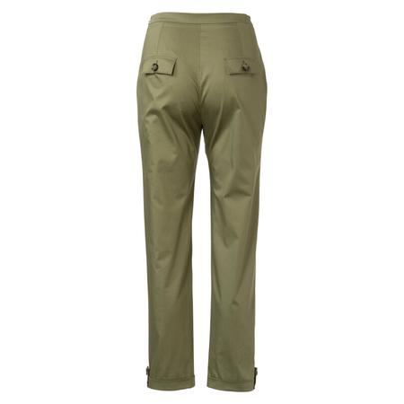 Wykrój BURDA: spodnie zzamkiem zboku, kieszeniami wkarczkach biodrowych ipodwinięciem, fig. 5