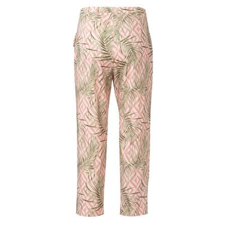 Wykrój BURDA: spodnie zzamkiem zboku, kieszeniami wkarczkach biodrowych ipodwinięciem, fig. 7