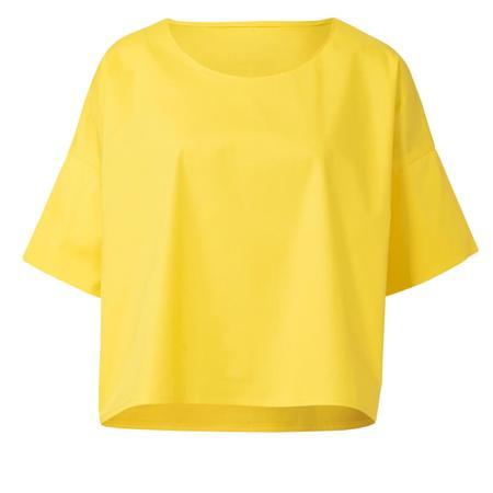 Wykrój BURDA: bluzka zokrągłym dekoltem i falbankami, krój pudełkowy, fig. 4