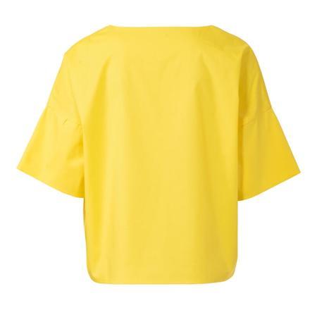 Wykrój BURDA: bluzka zokrągłym dekoltem i falbankami, krój pudełkowy, fig. 5