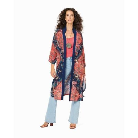 Wykrój BURDA: kimono, płaszcz iżakiet, fig. 3