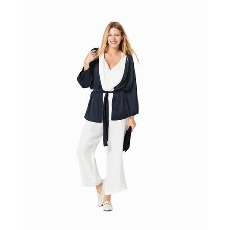 Wykrój BURDA: kimono, płaszcz iżakiet, fig. 2