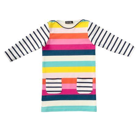 Wykrój BURDA: sukienka t-shirtowa zkieszeniami i sukienka zmarszczoną spódnicą, fig. 6