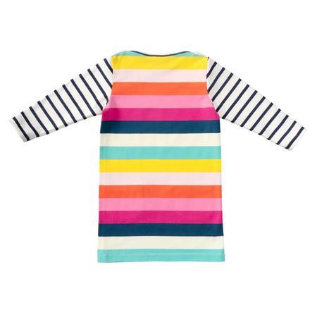 Wykrój BURDA: sukienka t-shirtowa zkieszeniami i sukienka zmarszczoną spódnicą, fig. 7