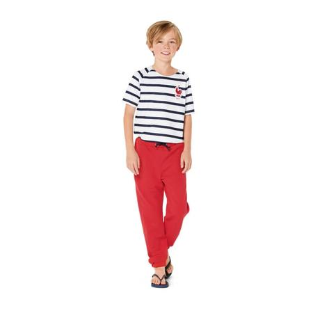 Wykrój BURDA: spodnie do biegania, zgumą wpasie, spodnie dresowe, fig. 2