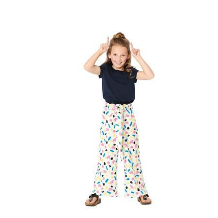 Wykrój BURDA: spodnie zgumą wpasie ikuloty o długości 7/8, fig. 2