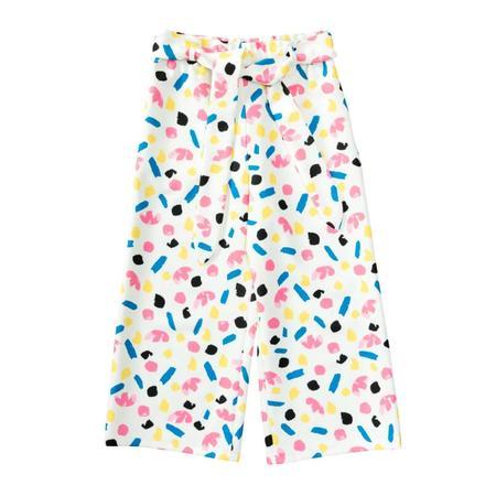 Wykrój BURDA: spodnie zgumą wpasie ikuloty o długości 7/8, fig. 4