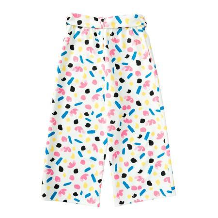 Wykrój BURDA: spodnie zgumą wpasie ikuloty o długości 7/8, fig. 5