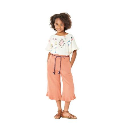Wykrój BURDA: spodnie zgumą wpasie ikuloty o długości 7/8, fig. 3