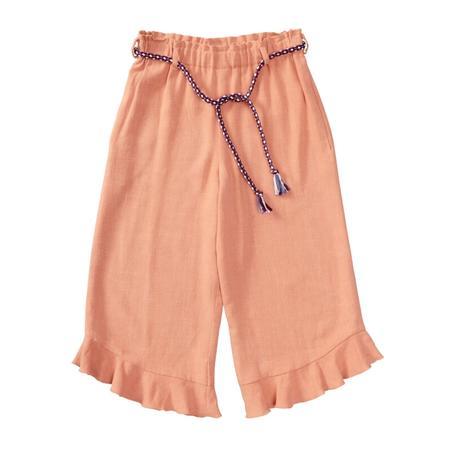 Wykrój BURDA: spodnie zgumą wpasie ikuloty o długości 7/8, fig. 6