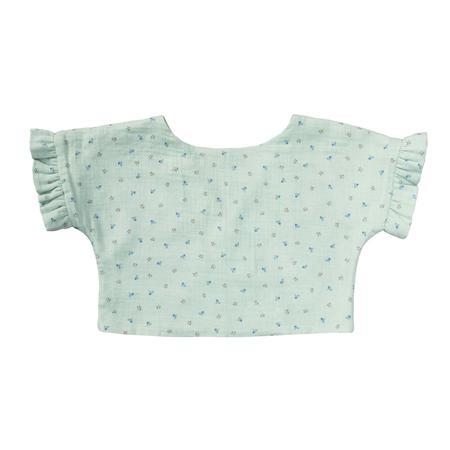 Wykrój BURDA: bluzka lub tunika z rękawami krojonymi zcałości ifalbankami, fig. 10