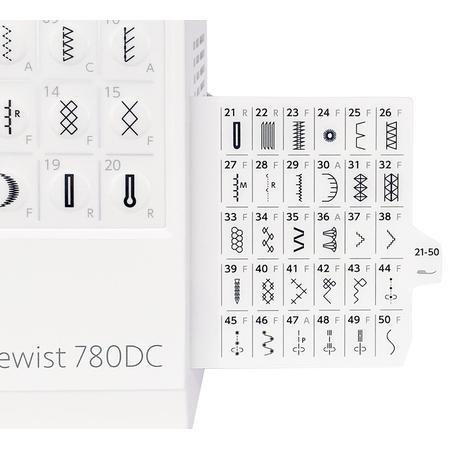 Maszyna do szycia JANOME 780DC + nici i szpulki GRATIS, fig. 9