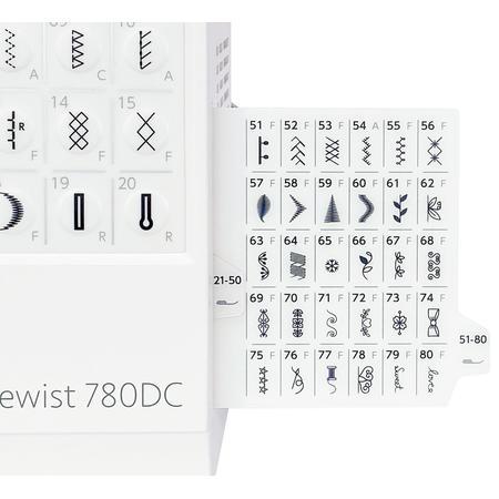 Maszyna do szycia JANOME 780DC + nici i szpulki GRATIS, fig. 10
