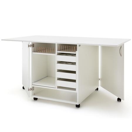 Stół drewniany rozkładany CRAFT pod maszynę do szycia, fig. 2