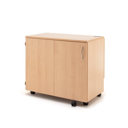 Stół drewniany rozkładany BASE pod maszynę do szycia, fig. 2