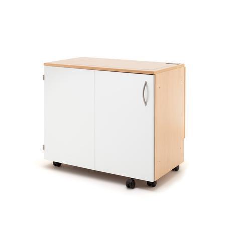 Stół drewniany rozkładany BASE pod maszynę do szycia, fig. 3