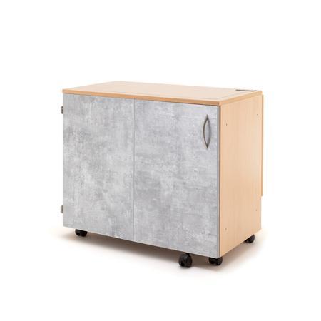 Stół drewniany rozkładany BASE pod maszynę do szycia, fig. 4