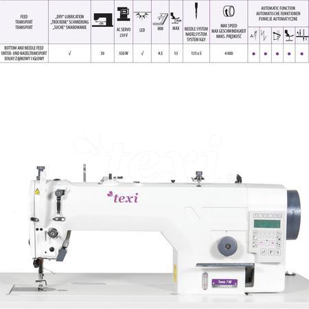Stębnówka Texi Tronic 7 z automatyką do szycia lekkiego i średniego, fig. 5