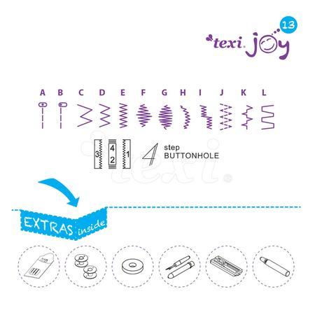 Maszyna do szycia TEXI JOY 13 Pink, fig. 4