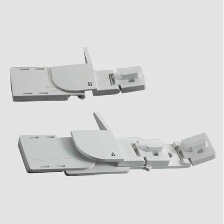 Zestaw zwijaczy do brzegów materiałów do Brother CV3440 i CV3550, fig. 2