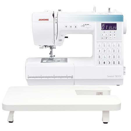 Maszyna do szycia JANOME 780DC ze stolikiem, fig. 1