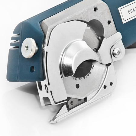 Nóż tarczowy akumulatorowy, komplet z ładowarką  (wys. cięcia 12 mm), fig. 4