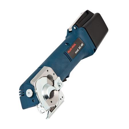 Nóż tarczowy akumulatorowy, komplet z ładowarką  (wys. cięcia 12 mm), fig. 1