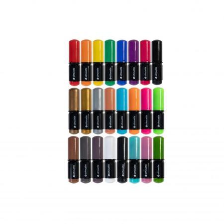 Zestaw mazaków Silhouette - 24 kolory, fig. 1
