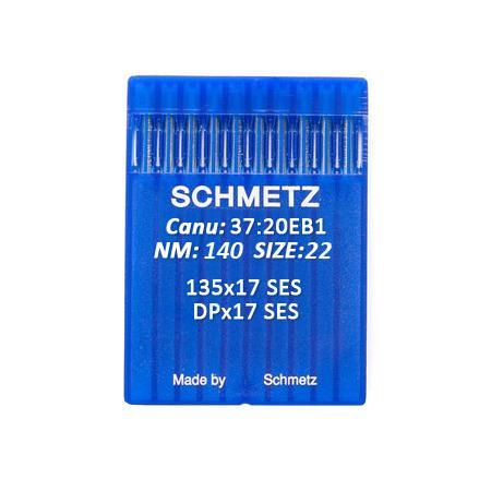 Igły Schmetz 135x17 SES do stebnówek do szycia dzianin - różne grubości, fig. 1