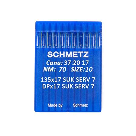 Igły Schmetz 135x17 SUK SERV 7 do stebnówek do szycia dzianin - różne grubości, fig. 1