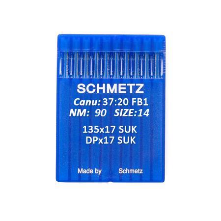 Igły Schmetz 135x17 SUK do stebnówek do szycia dzianin - różne grubości, fig. 1