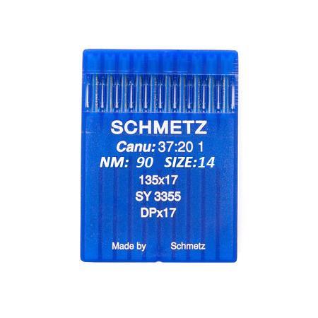 Igły Schmetz 135x17 do stebnówek do szycia tkanin - różne grubości, fig. 1
