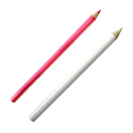 Kredka krawiecka do tkanin, 2 szt. biała + kolor, fig. 1