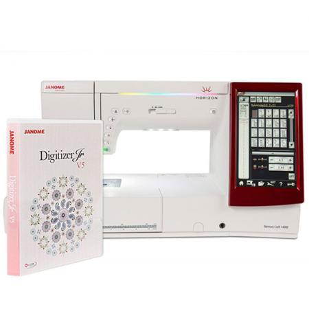 Maszyno-hafciarka Janome MC14000 + program Digitizer Jr, fig. 2