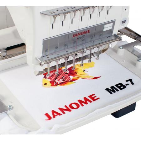 Hafciarka Janome MB-7, fig. 4